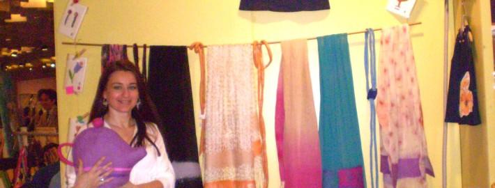 Francesca Camisoli alla Fiera dell'Artigianato - Firenze 2008