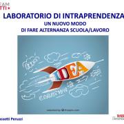 Laboratori di Intraprendenza - I.P.S Peruzzi - Novembre 2017