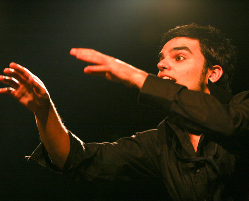 Davide Piludu Virdigris - vocal coach conduce l'Harmonic Circle